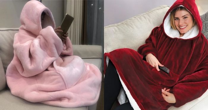 Giant Hoodie Blankets