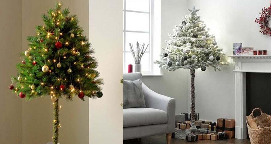You Can Now Get Half Christmas Trees To Stop Pets From ...