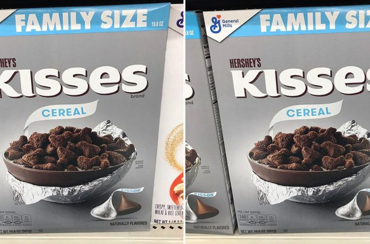 Hershey's Kisses Cereal