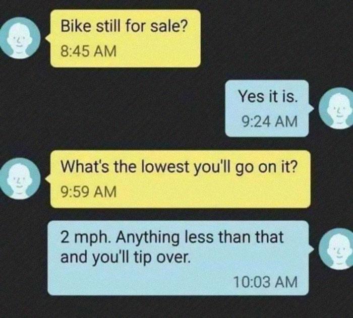 Hilarious Puns Bike