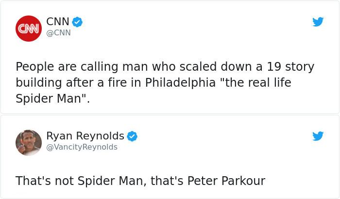 Hilarious Puns Spider Man