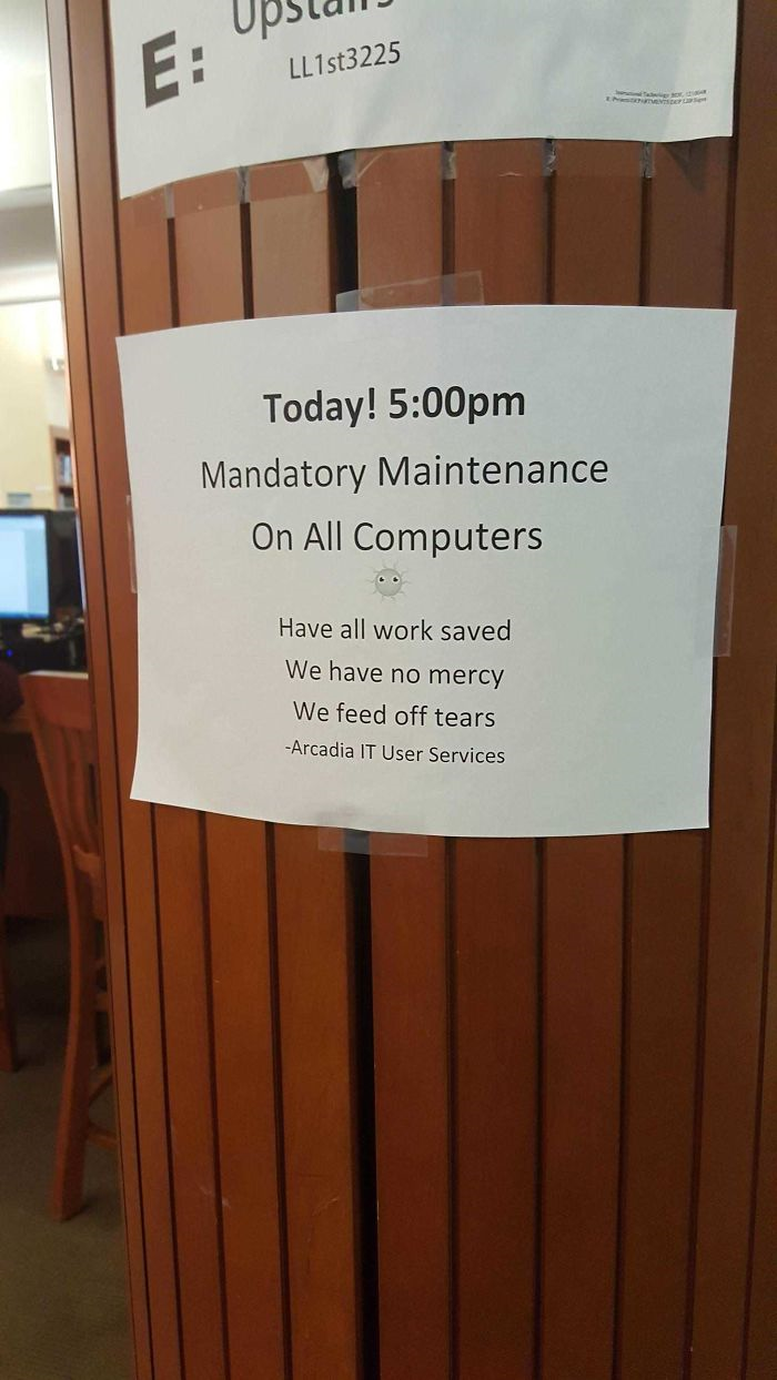 In my schools library