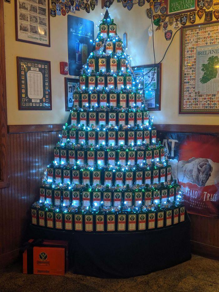 Jager Christmas Tree