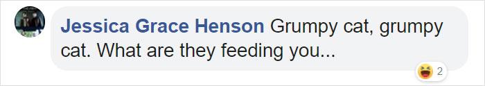 Jessica Grace Henson Facebook Comment