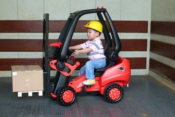 Kids pedal Powered Forklift