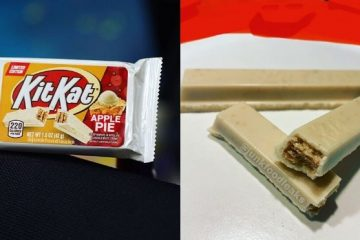 Kit Kat Apple Pie flavor