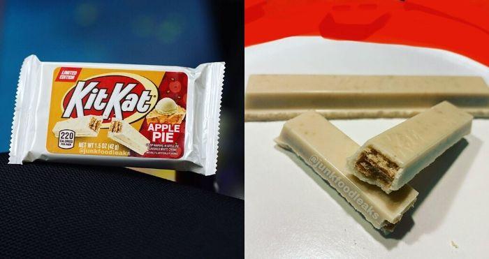 Kit Kat Apple Pie flavor