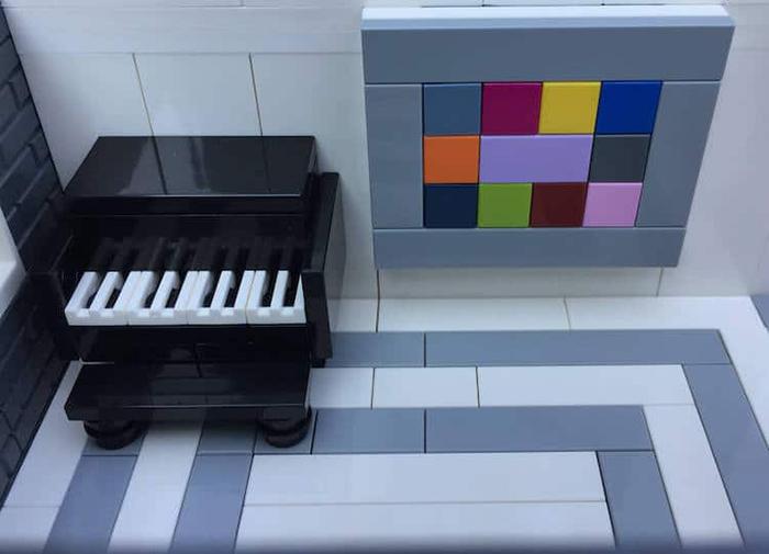LEGO Piano Room