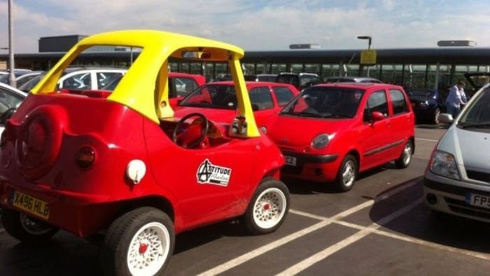 Little Tikes Car for Adults by Attitude Autos