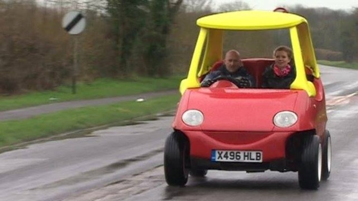 Little Tikes Car on the Road