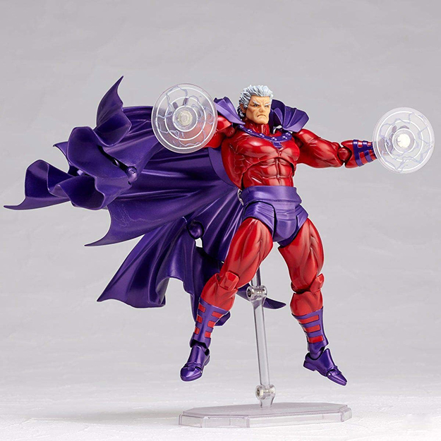 Magneto Paperclip Holder with magnetic attachments on fists