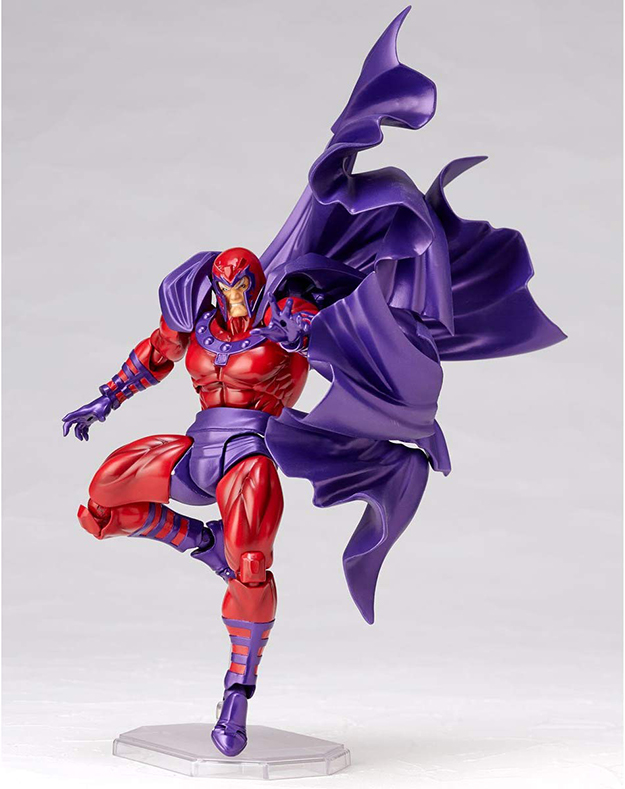 Magneto lands with one foot
