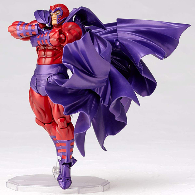 Magneto with arms crossed
