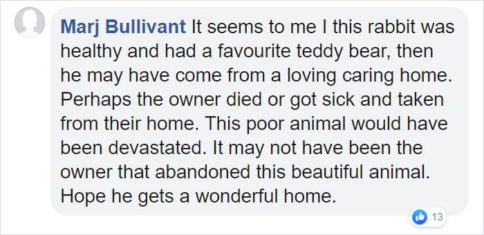 Marj Bullivant Facebook Comment