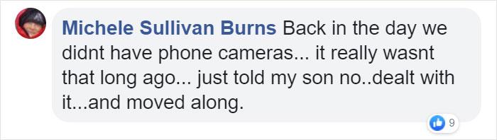 Michele Sullivan Burns Facebook Comment on Kristina Watts Christmas Mom Hack