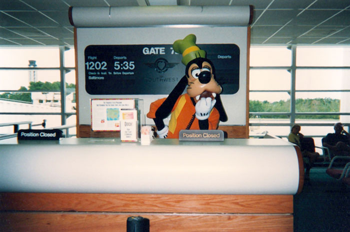 Mikey Jacobs as Goofy Reception Area