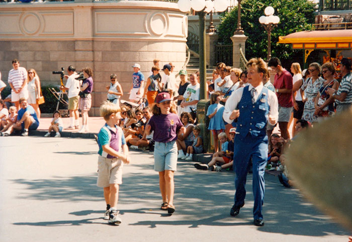 Mikey Jacobs at Work at Walt Disney World