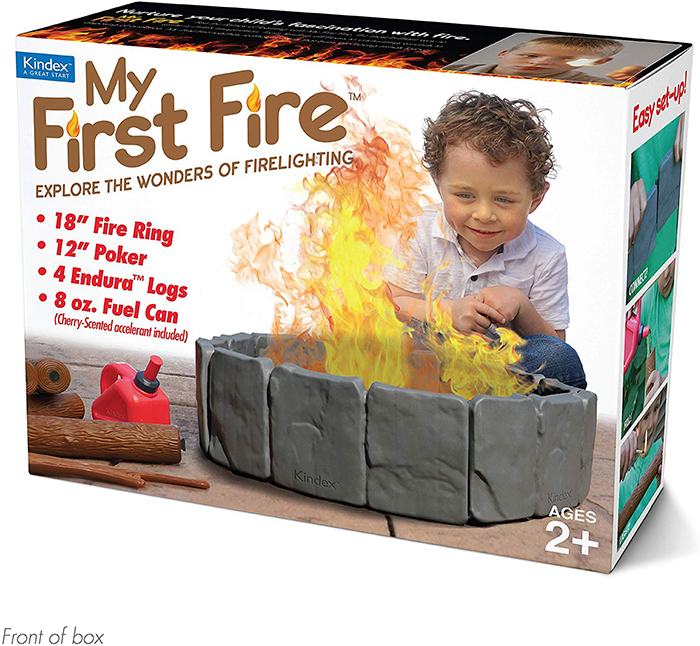 My First Fire Prank Gift Box Front