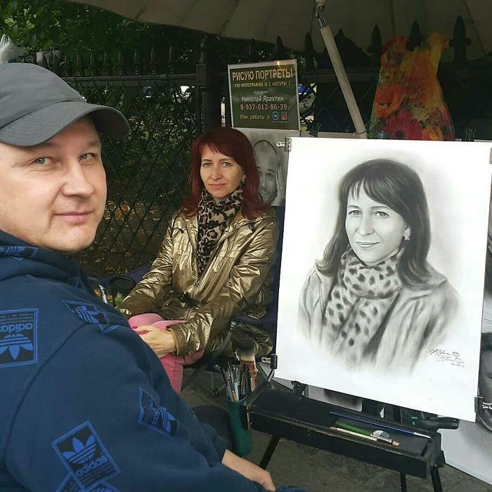 Nikolay Yarakhtin and a Female Client 4
