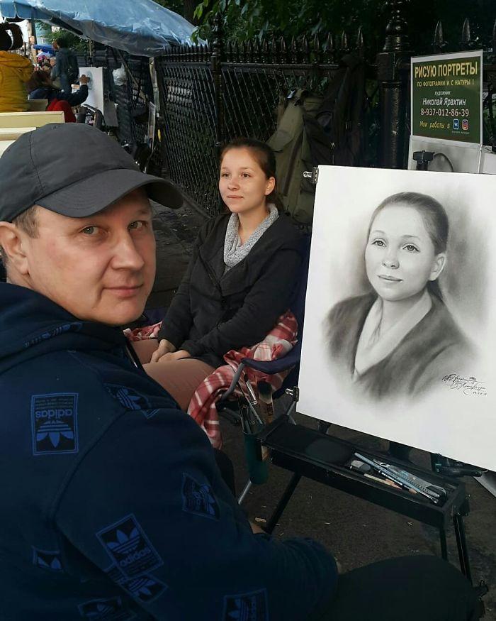 Nikolay Yarakhtin and a Female Client 5
