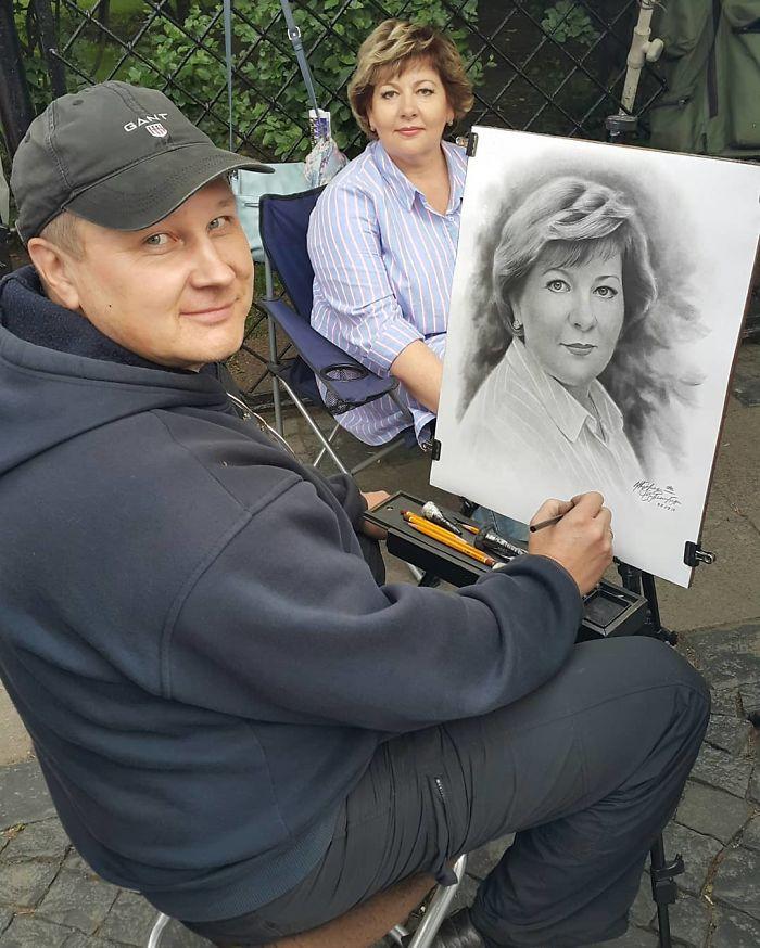 Nikolay Yarakhtin and a Female Client 7