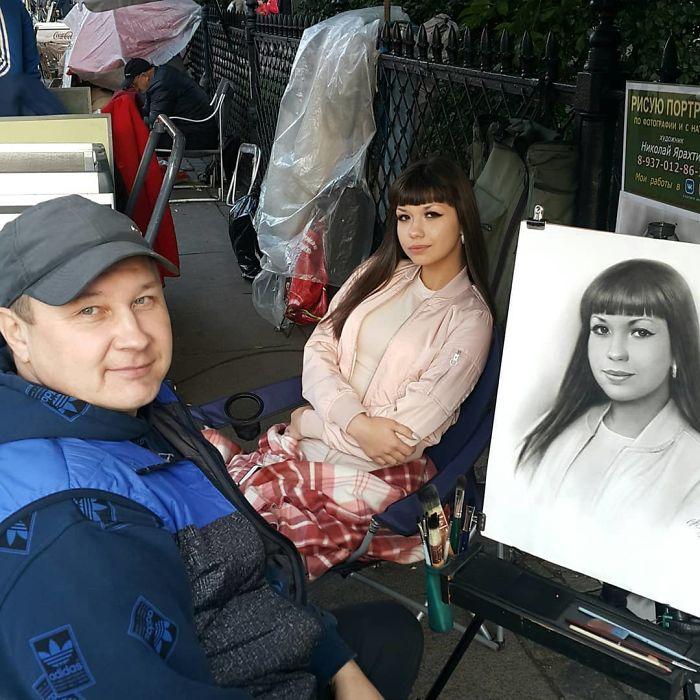 Nikolay Yarakhtin and a Female Client