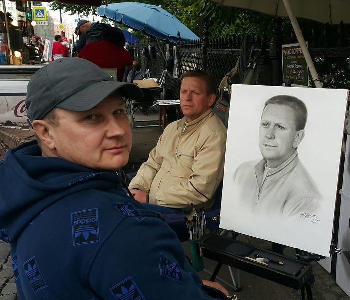 Nikolay Yarakhtin and a Male Client