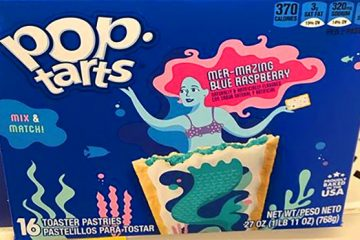 Pop-Tarts Mer-Mazing Blue raspberry