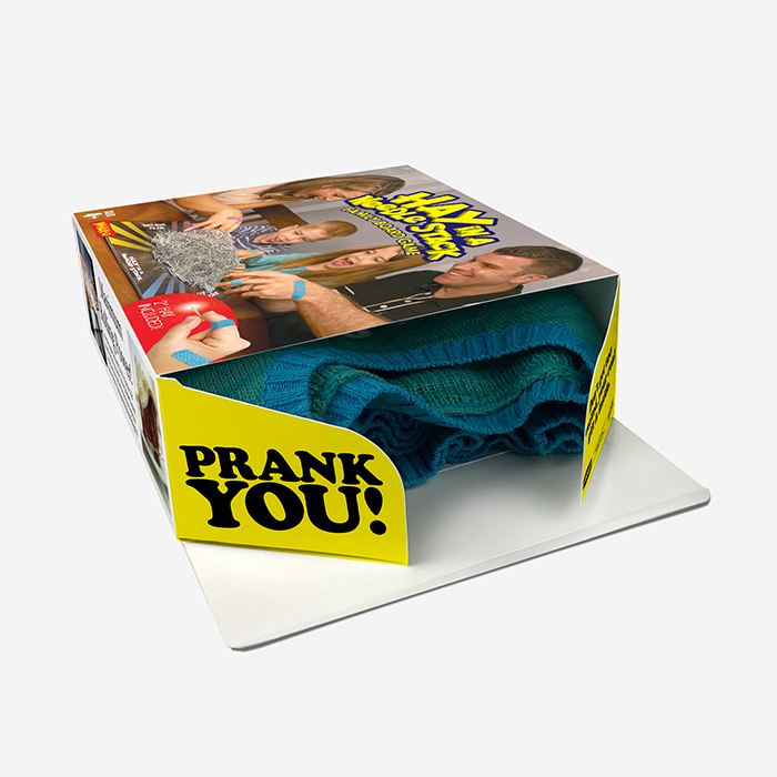 Real Gift Inside Prank Gift Box