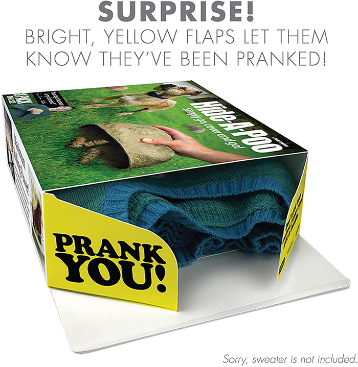 Real Gift Inside the Prank Gift Box