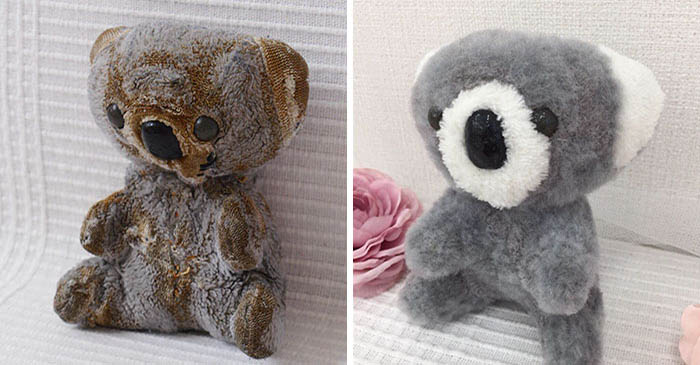 Recovered Teddy