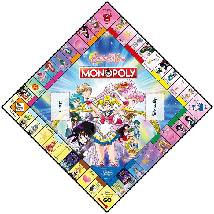 Sailor Moon Monopoly Board