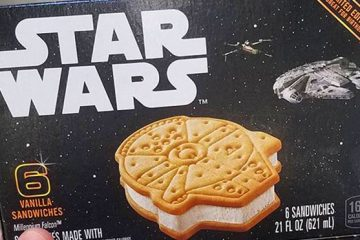 Star Wars Millennium Falcon Ice Cream Sandwiches