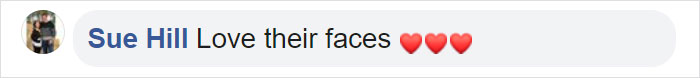 Sue Hill Facebook Comment