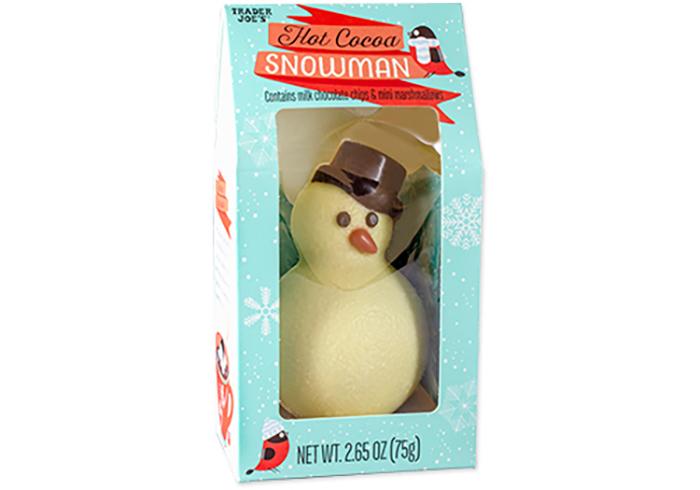 Trader Joe's Hot Cocoa Snowman