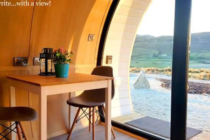 airbnb the hobbit pod workspace