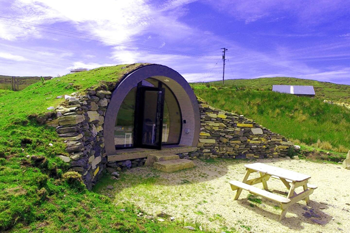 airbnb the hobbit pod