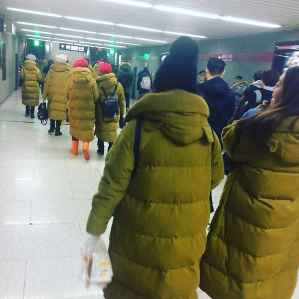 army of moss green winter coats