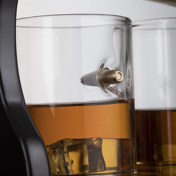 bullet whiskey glasses