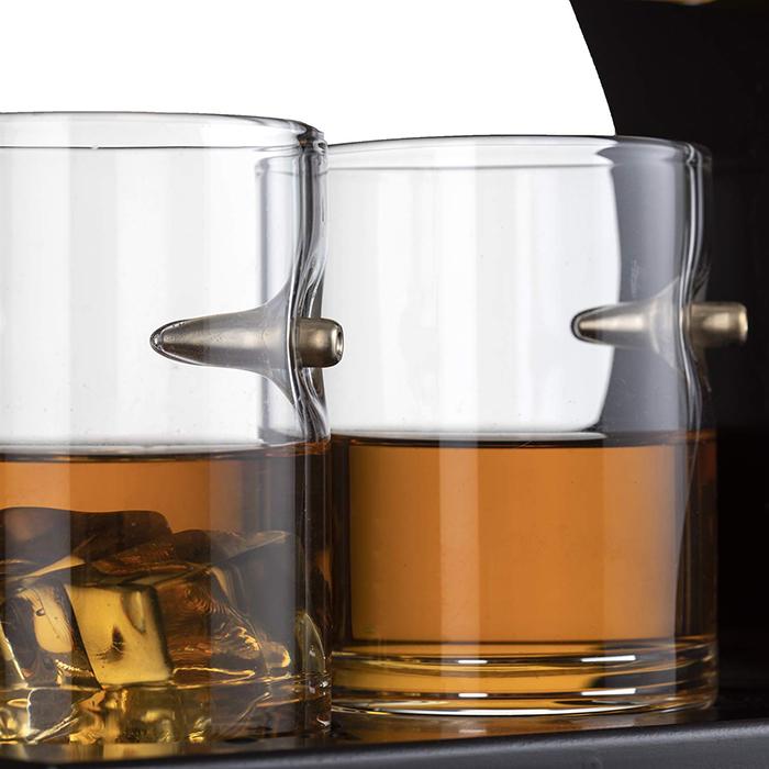 bullet wine glasses