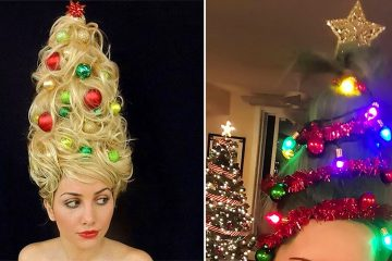 christmas tree hairstyles