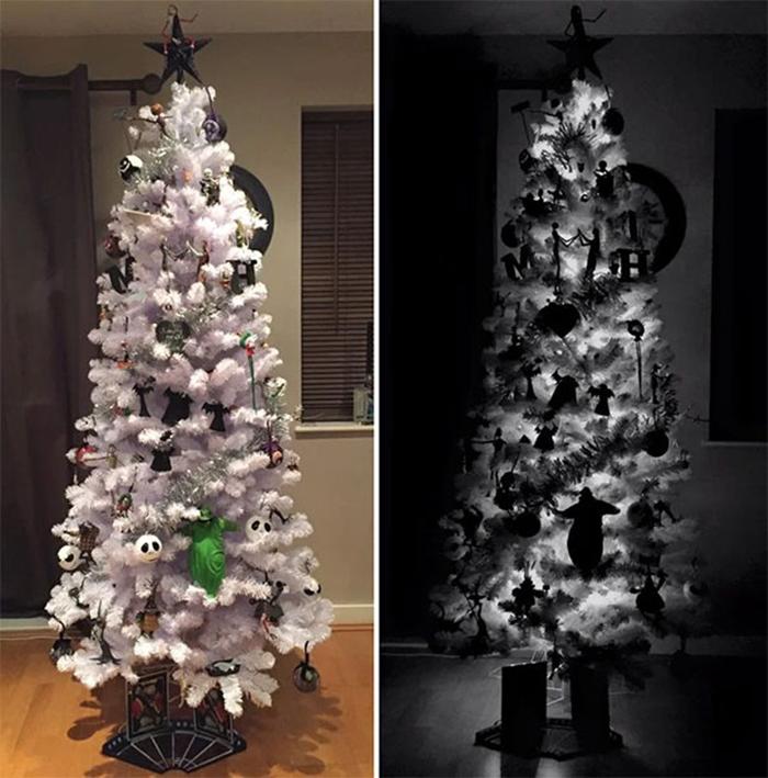 creative christmas tree ideas halloween