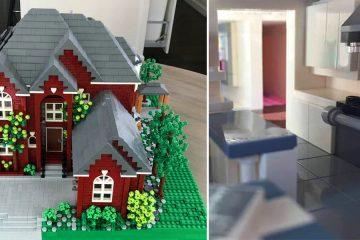 custom lego houses