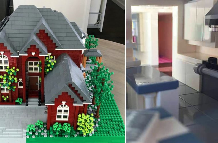 custom lego houses