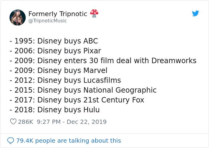 disney's timeline 1995 to 2018