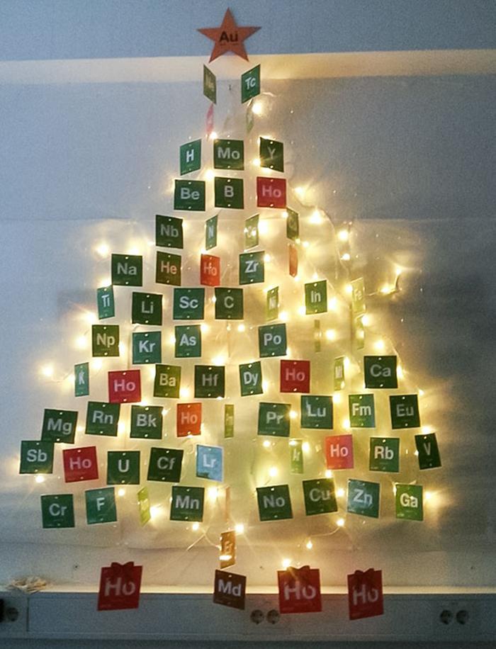 diy holiday trees elements