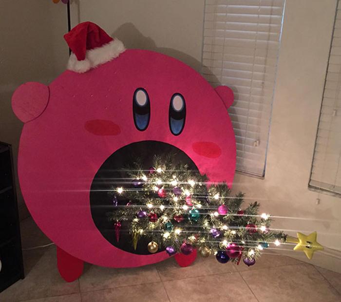 diy holiday trees kirby