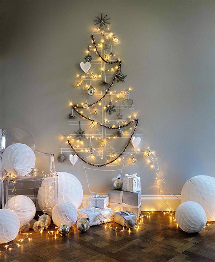 diy holiday trees minimalist