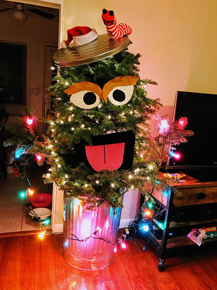 diy holiday trees oscarmas slimy