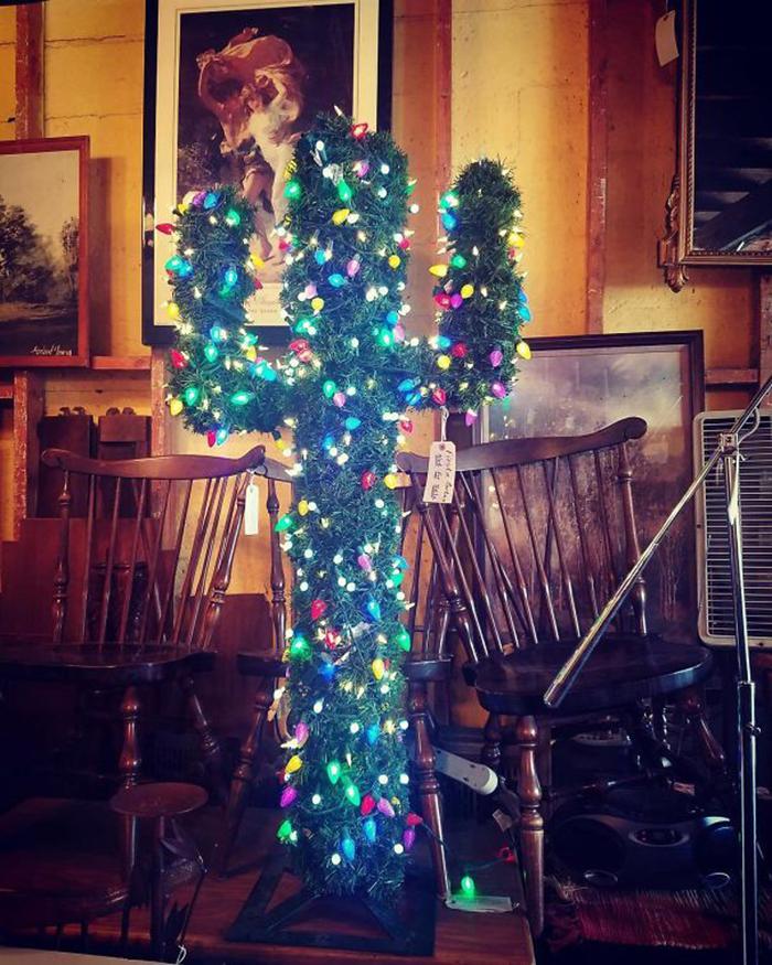 diy holiday trees texas style